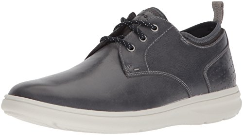 Rockport Men's Zaden Plain Toe Ox Shoe, dark shadow, 13 M US