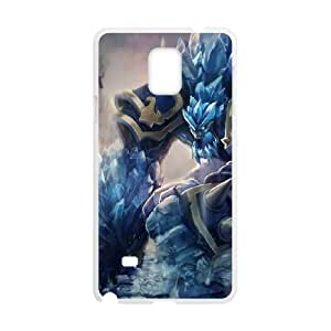 Samsung Galaxy Note 4 Cell Phone Case White League of Legends Glacial Malphite GYV9381867