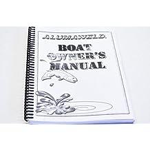 Alumaweld Manual299-39 Boat Owners Manual QTY 1
