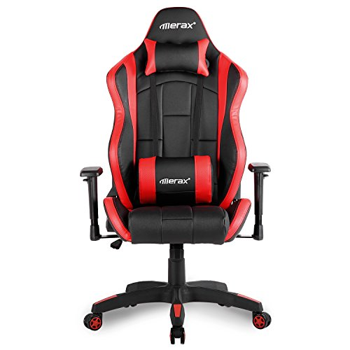 411U BnvAkL - Merax-Racing-Chair-Computer-Gaming-Chair-Big-and-Tall-Home-Office-Chair-with-Headrest-and-Lumbar-Support