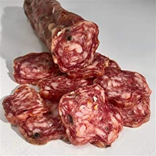product image for Fortuna's Italian Dry Salami Infused with local Craft Beer, 10 Ounce Stick of Hand Made Salami di Birra