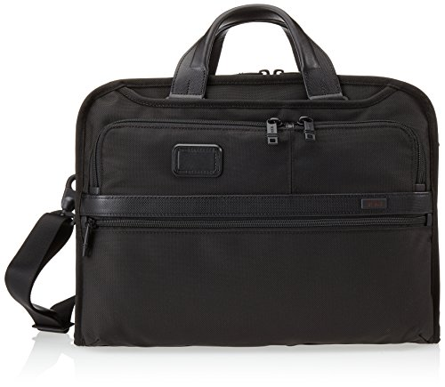 Tumi Alpha 2 Organizer Portfolio Brief, Black, One Size by Tumi