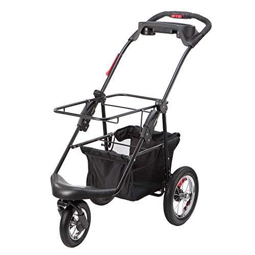 PETIQUE Pet Stroller, Black, One Size