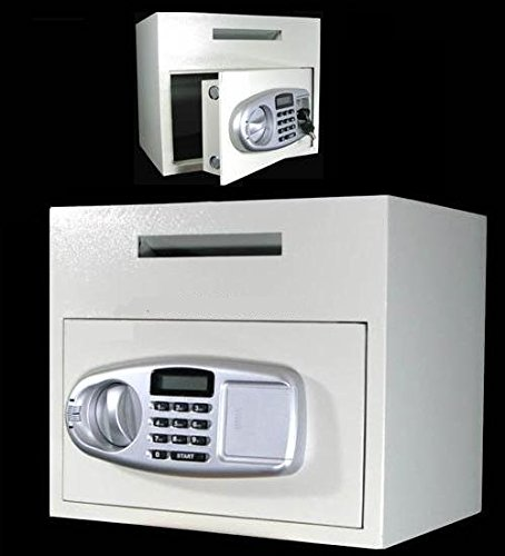 Loading Safe Drop Front - AA Large Front Loading Electronic Drop/Depository Safe W/LCD Display Only $139.99