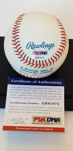 Brooks Robinson Autographed Signed Baseball; 1964 Al Mvp; HOF 83; PSA Ab91653 - Authentic Memorabilia 1964 Al Mvp Autographed Baseball