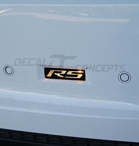 Camaro Reverse Light RS Decal Overlay kit (2010-2013)