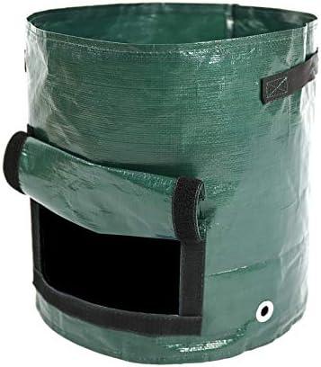 Zaluan Jardín Bolsa de Compost de PE Plantas de semillero de hortalizas Plantación de Patatas Bolsa de Cultivo Patio de Cocina Bolsas compostables Sembradora Bolsas de semillero Olla,35x45cm: Amazon.es: Hogar