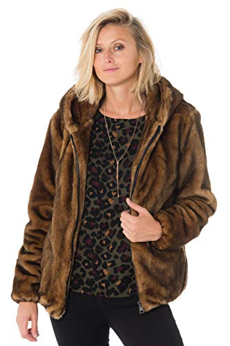 0559 Connecting Vison Femme Marron Blouson Oakwood AX1TS4