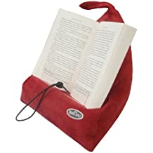 The Book Seat - Book Holder and Travel Pillow - Red