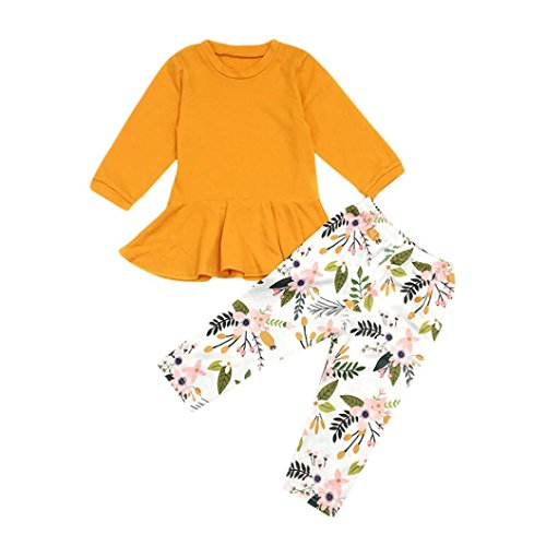 Goodlock Toddler Kids Fashion Clothes Set Baby Girls for sale  Delivered anywhere in USA