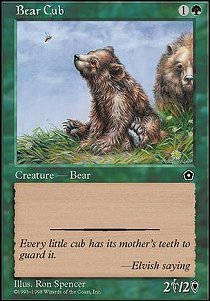 Magic: the Gathering - Bear Cub - Portal Second Age
