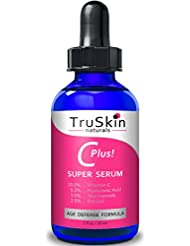 TruSkin Naturals Vitamin C-Plus Super Serum, Anti Aging...