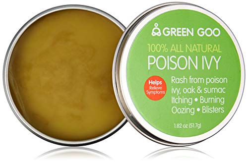 Green Goo All-Natural Skin Care, Poison Relief, Large Tin, 1.82 ()