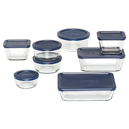 Anchor Hocking Classic Containers 16 Piece