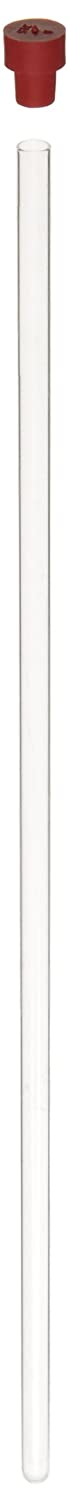 Corning 6981A-8 Borosilicate Glass or N51 Glass Precision NMR Tube, 8\' Length, Economy (Case of 5) 8 Length