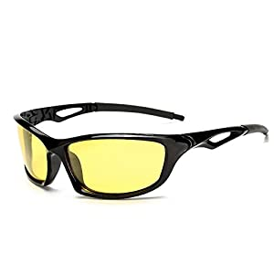 Kaimao Polarized Sports Sunglasses Waterproof Outdoor Cycling Running Sun Glasses for Men Women with Case and Cloth