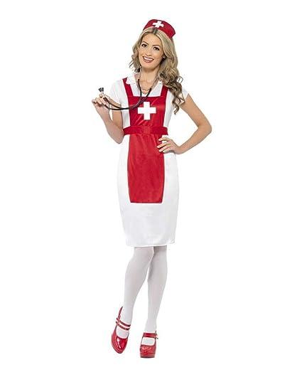 Horror-Shop Disfraz de Enfermera OP M: Amazon.es: Juguetes y juegos