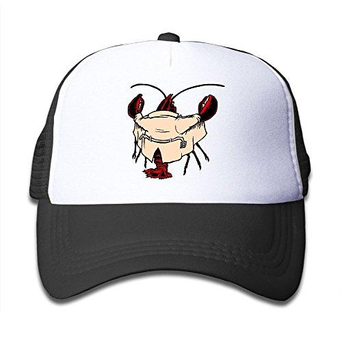 Hot DNUPUP Kid's Domineering Cartoon Lobster Adjustable Casual Cool Baseball Cap Mesh Hat Trucker Caps