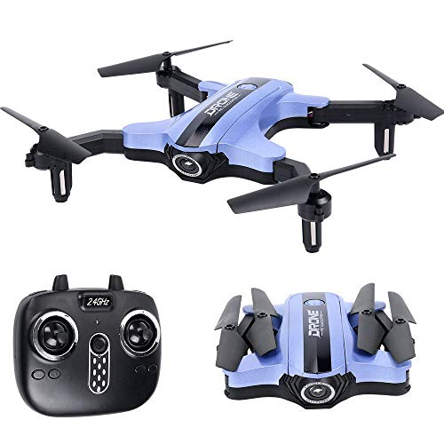 Mini Drone RC Nano Quadcopter 2.4Ghz 6-Axis Gyro Altitude Hold, 3D Flips, Headless Mode for Beginners,Foldable