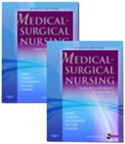 Read Online Medical-Surgical Nursing: Assessment and Management of Clinical Problems, 8th Edition (2 Volume Set) by Sharon L. Lewis Published by Mosby 8th (eighth) edition (2010) Hardcover ebook