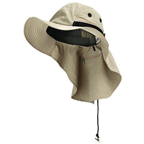 Adam's Headwear Extreme Condition Hat UPF 45+ Khaki