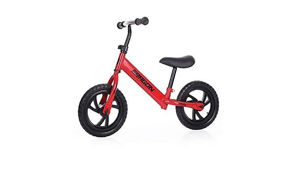 Xiao Tian Bicicleta Equilibrio Infantil Bicicleta, Rojo: Amazon.es ...