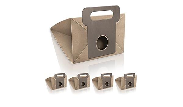 WESSPER® Bolsas de aspiradora para Moulinex PowerStar 1400w (5 piezas, papel): Amazon.es: Hogar