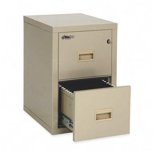 FIR2R1822CPA - FireKing Insulated Turtle File Cabinet