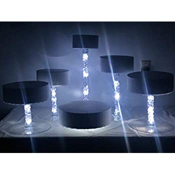 Amazon Com Wedding Cake Stand Eight Tier With Led Lights With