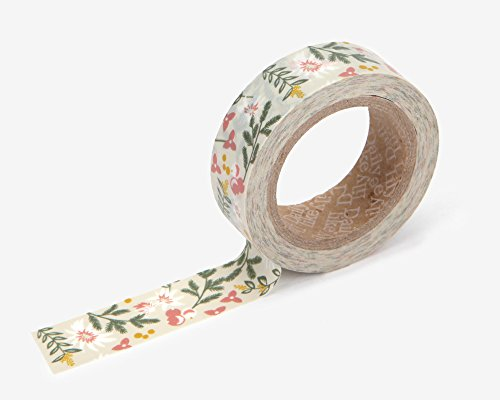 Premium Washi Tape for DIY, Scrapbook, Planner, Gift Wrapping - Love My Tapes 5/8 Inch Width x 32.8 Foot Length (Kaya - Kay Scrapbooking