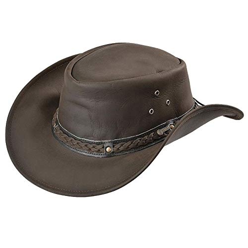 (Outback Trading Wagga Wagga Hat, Chocolate, Medium   )
