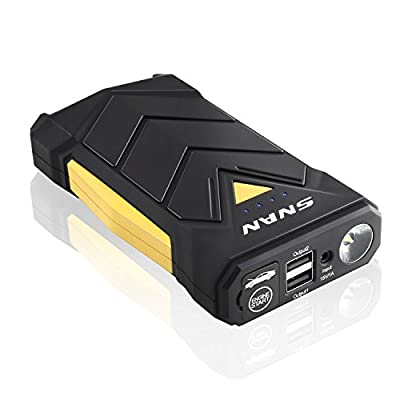 SNAN Car Jump Starter 12000mAh Portable Car Battery Charger, Auto Battery for Emergency and Power Bank for USB Device