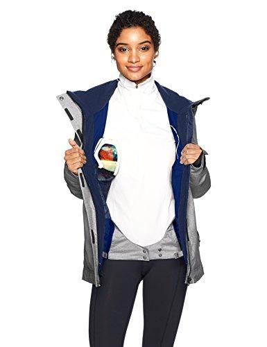 Roxy SNOW Junior's Billie Snow Jacket, Heritage Heather, S by Roxy (Image #3)