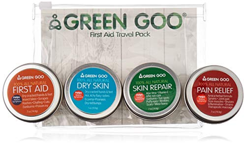 Green Salve - Green Goo All Natural Travel Pack, First Aid