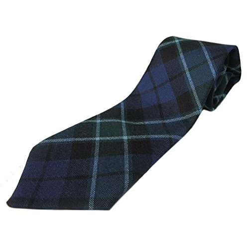 Ingles Buchan Mens Scottish Wool Tartan Tie Graham of Menteith
