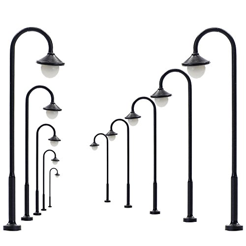 Evemodel LYM13 10pcs Model Railway Led Lamppost Lamps for sale  Delivered anywhere in USA