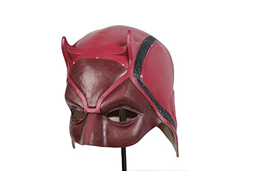 Daredevil Latex Face Mask Headwear Halloween Costume -