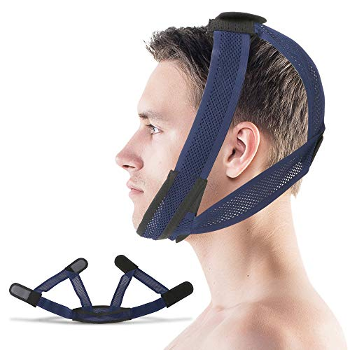 Supotto Belt Chin Strap for Mouth Breather L size| Portable Anti-Snore Sleeping Device | Sleep Care & Snoring Accessories | Quiet Breathing & Jaw Aid Equipment