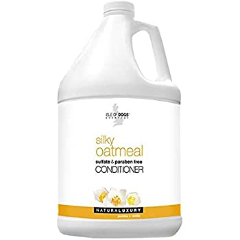Isle of Dogs Silky Oatmeal Conditioner, 128 Fluid Ounce