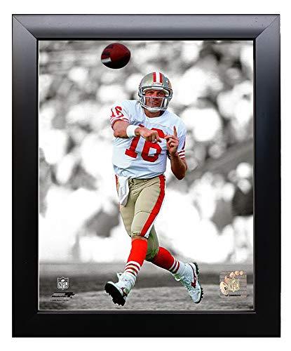 Framed San Francisco 49ers Joe Montana 8x10 Action Photo Picture