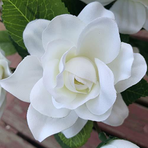 Yinhua-2-Packs-Artificial-Gardenia-Flower-Artificial-Flower-Blooming-Artificial-Flower-Bouquet-for-Home-Wedding-Arrangement-Decoration