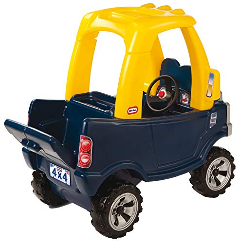 411U92i4iuL - Little Tikes Cozy Truck Ride-On with removable floorboard