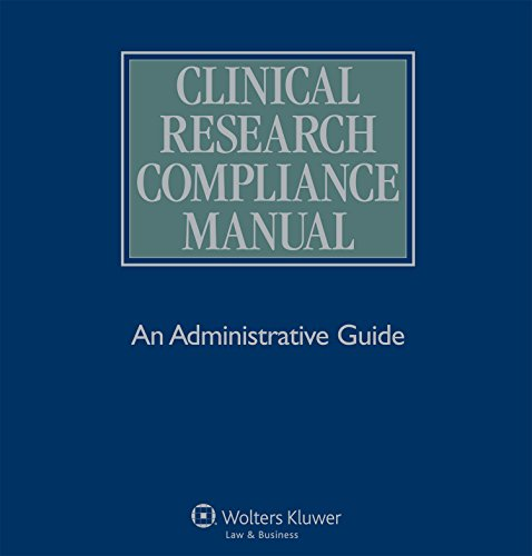 Download Clinical Research Compliance Manual Pdf