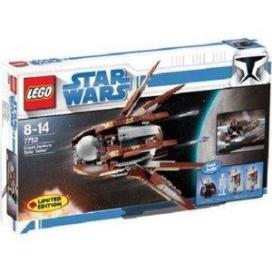 LEGO Star Wars Set #7752 Clone Wars Count Dooku's Solar Sailer, Baby & Kids Zone