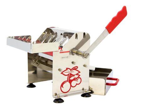 The Sausage Maker - Stainless Steel Deluxe Cherry Pitter by Harvest Fiesta