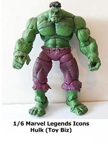 Marvel Comics Incredible Hulk - Clip: 1/6 Marvel Legends Icons Hulk (Toy Biz)