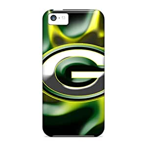Luoxunmobile333 Shockproof Scratcheproof Green Bay Packers Hard Cases Covers For Iphone 5c
