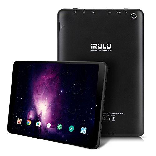 iRULU EXPRO 5 s Tablette (x 5 s) 7,85 pulgadas 768 * 1024 IPS HD Display, Android 7,0, RAM 1 Go + ROM 16 Go, GMS certifié (7.85 Pulgadas, Noir)