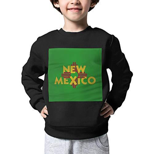 AW-KOCP Children's New Mexico Flag Sweater Boys Girls Outerwear