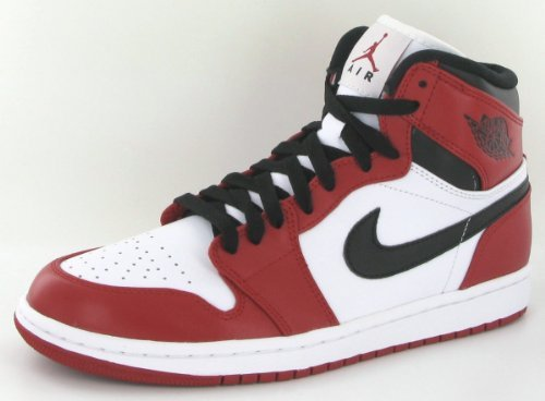Air Jordan 1 Rétro (og) Blanc / Université Rouge-noir (11)